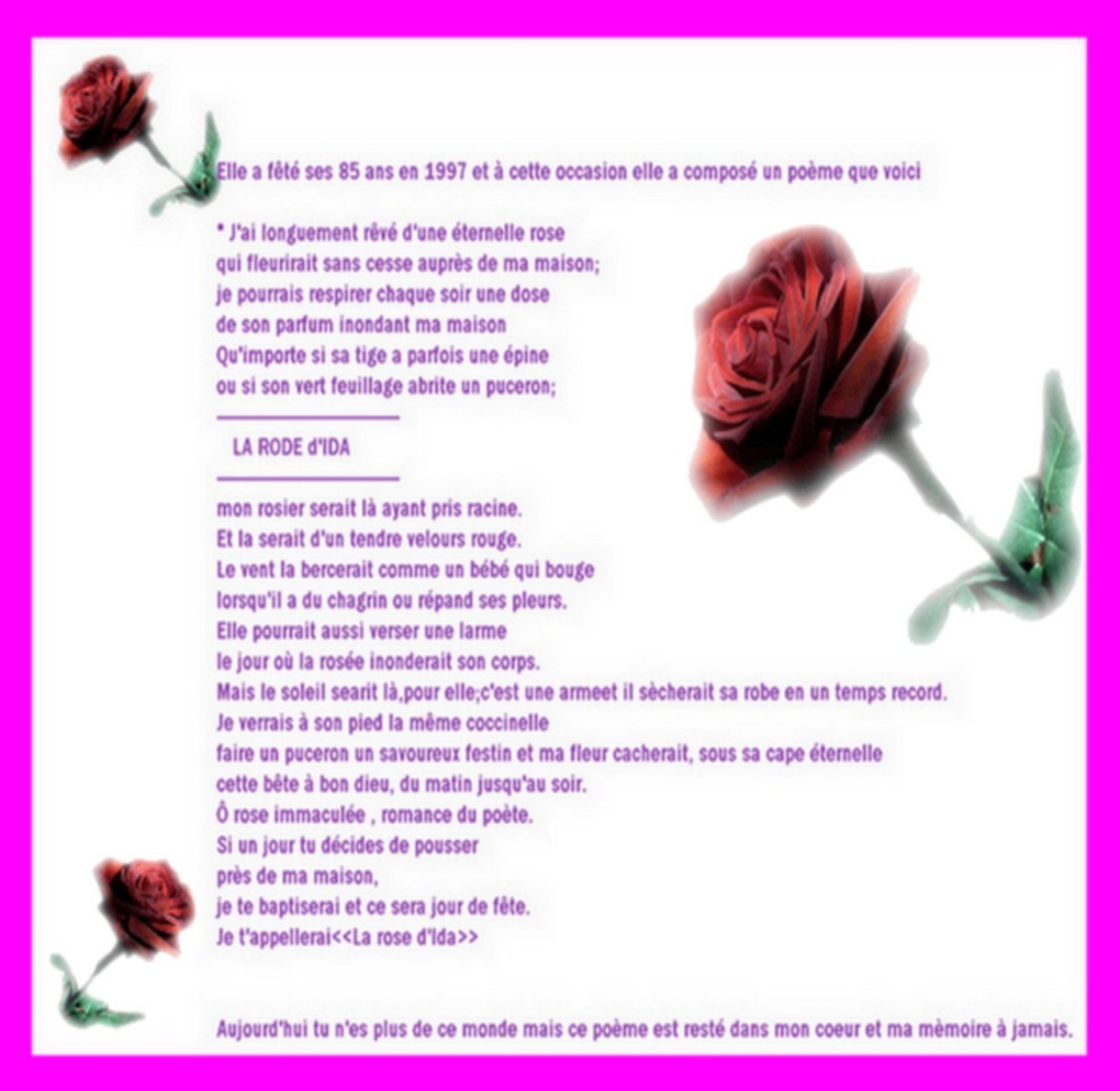 Je cherche la femme de ma vie poeme